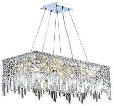 rectangular crystal chandelier cascade light chrome finish crystal rectangle chandelier rectangular crystal chandelier home depot rectangular