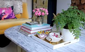 swoonworthy kimberly hughes coffee table styling tips