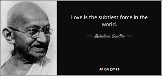 mahatma gandhi quotes on love