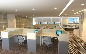 partition in office design. office lobby interior design of partition in e