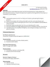 Resume Format For Medical Representative Nmdnconference Com