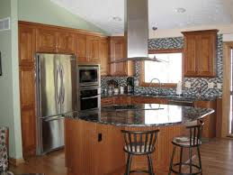 ... Small Kitchen Remodel Kitchen Collections Design. Open Kitchen  With Semi Circular Island 9