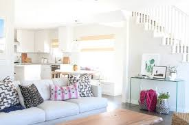 Family Friendly Bohemian Eclectic Living Room
