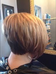 layered stacked bob hairstyles idea