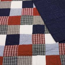 Boys Mckenzie Blue & Red Patchwork Quilt / Throw – Fun Rooms For Kids &  Adamdwight.com