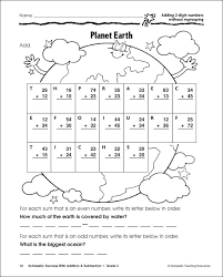 digit addition and subtraction without regrouping worksheets ...