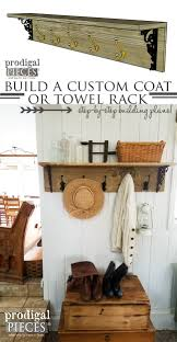 Custom Coat Racks DIY Coat Rack Farmhouse Style Prodigal Pieces 95