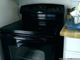 glass top stove protective cover flat black for heat resistant technique on a