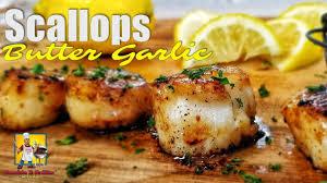 Butter Garlic Scallops Recipe ...