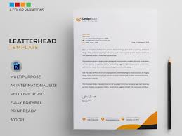 Letterhead Word Designs Themes Templates And Downloadable