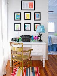 decorate the office. As Luck And Good Fortune Would Have It When Came Time For Kursty Groves To Create Decorate Her Home Office She Was Able Crib Lessons From Some The R