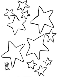 Small Picture Coloring Pages Stars