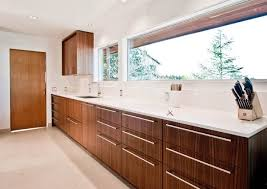 Mid Century Modern Kitchen Cabinets Square Kitchen Island White Cabinets  Refacing Black Glossy Counter Top Natural