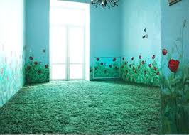 paint colors for bedroom with green carpet. modern floral room decor trends, red poppies on walls paint colors for bedroom with green carpet \
