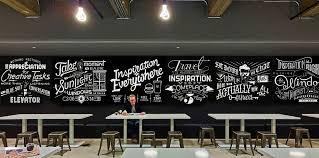 wall wall art cafe