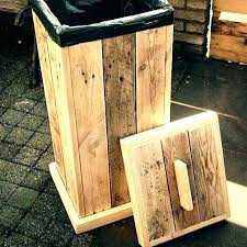wooden garbage box can wood garbage truck toy storage wooden garbage can storage bin free wooden wooden garbage box