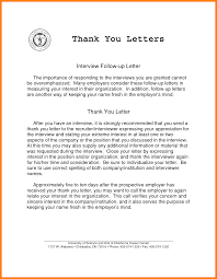 Thank You Letters After Interview After Informational Sample Thank