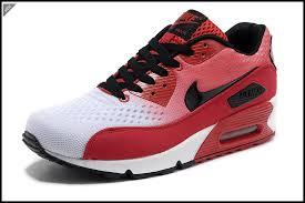 exquisite design black white red. Exquisite Design 2Y Lyx Ro Nike Air Max 90 Premium Knitting Men Running Shoes White China Red Black \u0026mj!J E