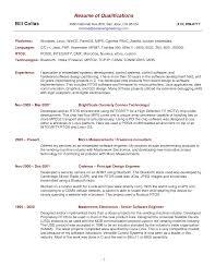 Summary Of Qualifications Resume Examples Berathen Com