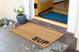 Vinyl Back Doormat   Sup   Coir Doormat   Coco Mats N' More