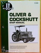 oliver tractor manual new oliver shop manual for tractor models 1555 1650 1755 1850 1950 2255 o