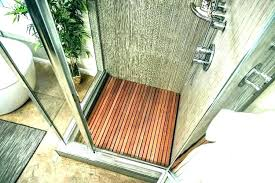 teak wood bathroom mat bath shower floor mats the lifespan of wooden