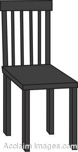 chair clipart black and white. chair clipart black and white h