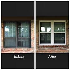window replacement before and after. Simple Before Here Is Our Before And After  What Do You Think In Window Replacement Before And After
