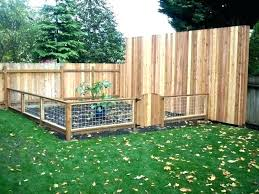 wooden garden fence simple ideas low how to build a prague fencing panels wooden garden
