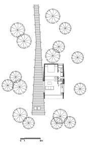 Floor Plan Tree House in Curacav Chile