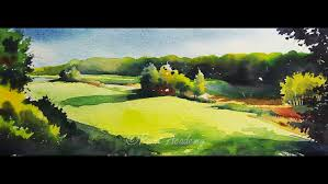 basic landscape painting watercolor landscapes