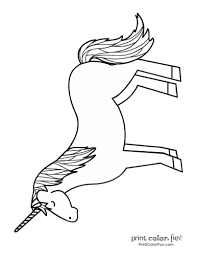 Print out his coloring sheet to brighten your 15. Top 100 Magical Unicorn Coloring Pages The Ultimate Free Printable Collection Print Color Fun
