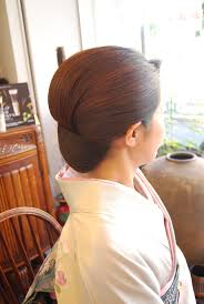 七五三おめでとうございます和装髪型着付bell桜新町用賀桜