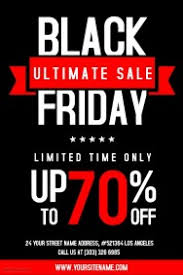 Sales Flyer Templates Customize 620 Black Friday Flyer Templates Postermywall