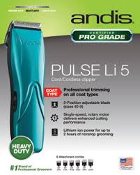 Andis Grooming Chart The Groomers Mall Andis Professional Grooming Clippers