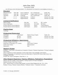 Physician Resume Templates Download Free Cv Microsoft Word Pdf