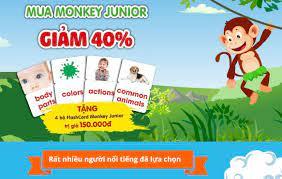 Bé Học Tiếng Anh Mokey Junior - Home