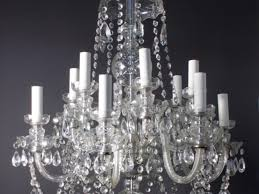 crystal chandelier antique crystal chandeliers stunning rewire