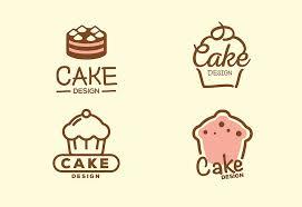 4 Free Cake Design Logos Bundle For Bakery Shop Decolorenet