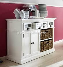unique storage belgravia painted buffet with storage front drawers modern kitchen cabinet designu0026 2 rattan baskets cabinetmodern ktchen