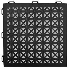 staylock perforated black 12 in x 12 in x 0 56 in
