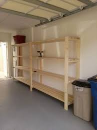 diy shelving ideas garage. easiest diy garage shelving unit - free plans! diy ideas y