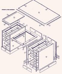 Desk Design Ideas, Woodworking Computer Desk Blueprints Area Where Required  In Installing A Variety For