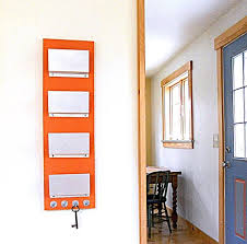 family mail organizer wall mount