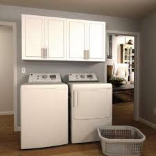 Madison 60 in. W White Laundry Cabinet Kit