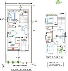 house floor plans under 1300 square feet inspirational guest house 30 x 25 house plans the