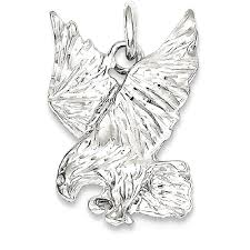 icecarats 925 sterling silver eagle