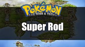 Super Rod Light Platinum Pokemon Red Blue Yellow Where To Get Super Rod