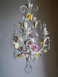 rose vintage chandelier