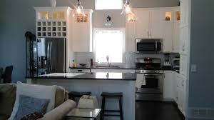 kitchen remodel woodbury mn kitchen cabinets custom cabinetry wine cubbies painted cabinets